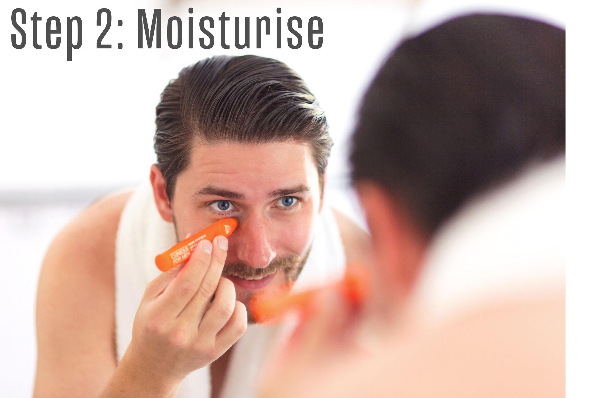 Step 2: Moisturise